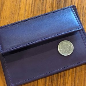 Elliot Rhodes Coin Purse and Card Holder